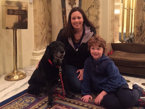 Dog Ambassador Catie Copley Fairmont