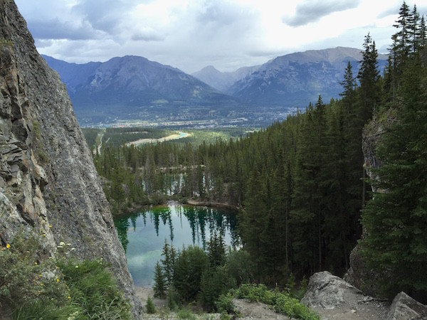 Hiking in Canmore
