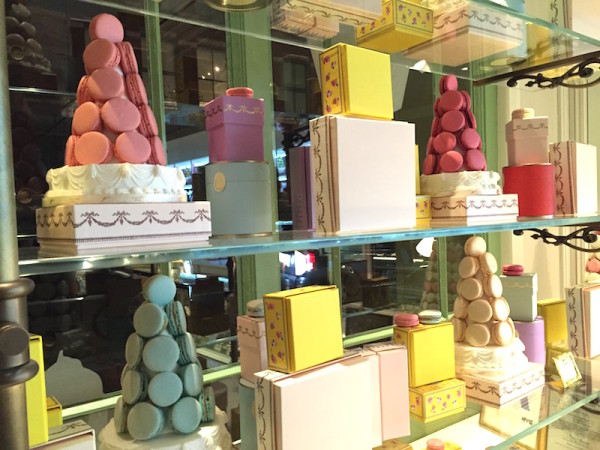 Make sure to check out LaDurée near the Trump Soho for authentic Parisienne Macarons