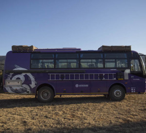 The Lando- G Adventures new overland adventure vehicle