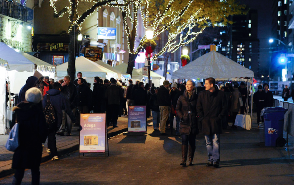 The Ice, Wine and Dine takes place each November in Toronto.