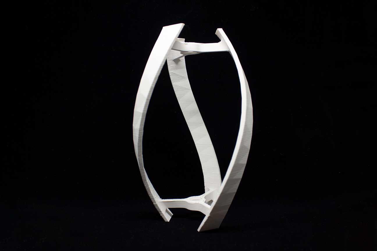 turbina 3D