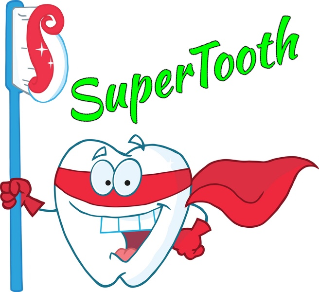 Superhero SuperTooth