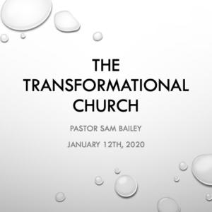 January 12th, 2020 – Pastor Sam Bailey