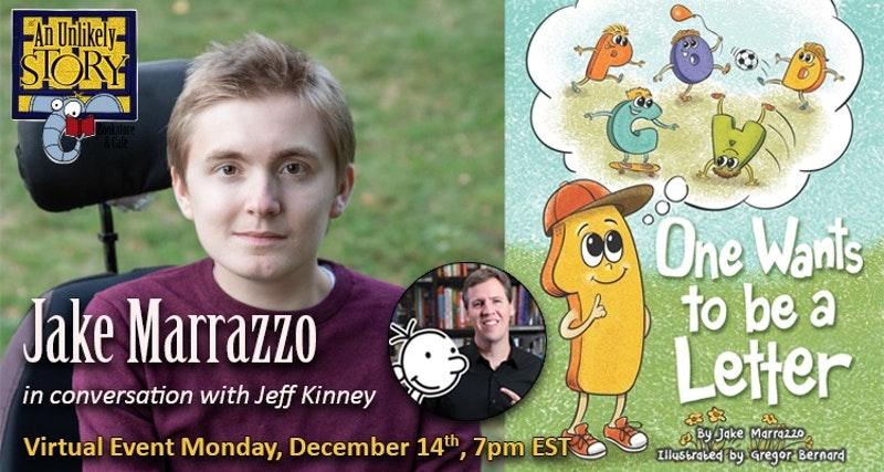 Virtual Event Jeff Kinney Jake Marrazzo
