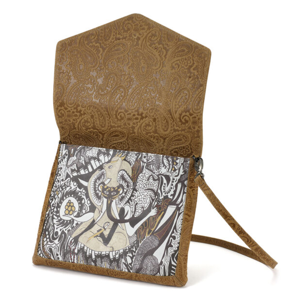 Crossbody tan Ganesh 2