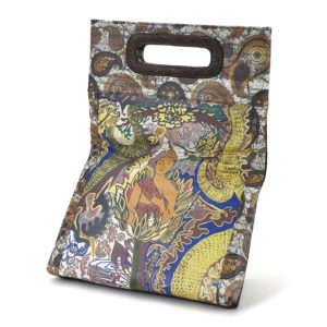 Awakening Brown Embossed Paisley