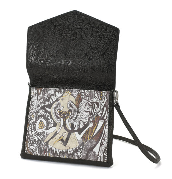 cross body black ganesh 2