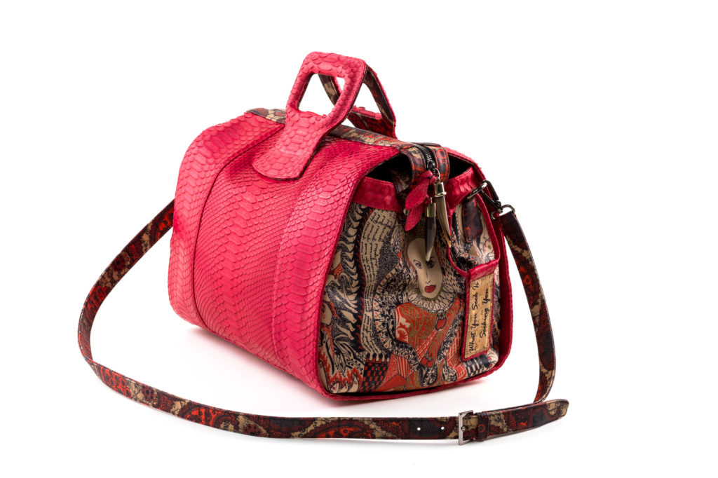 Red python Lady-B
