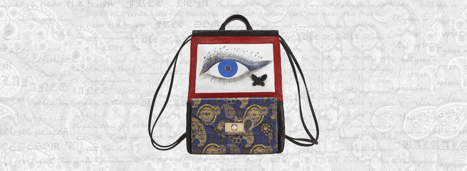 evil eye sac bag
