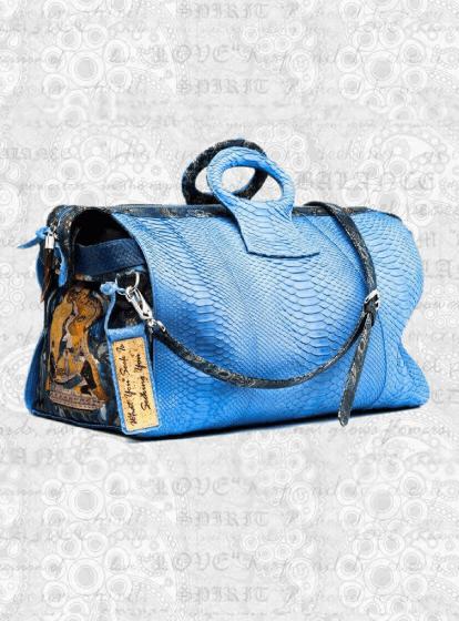 duffel-ganesh-python hand bag