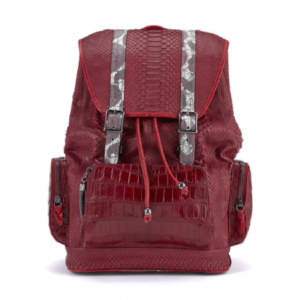 BACKPACK fingerprint-red-python