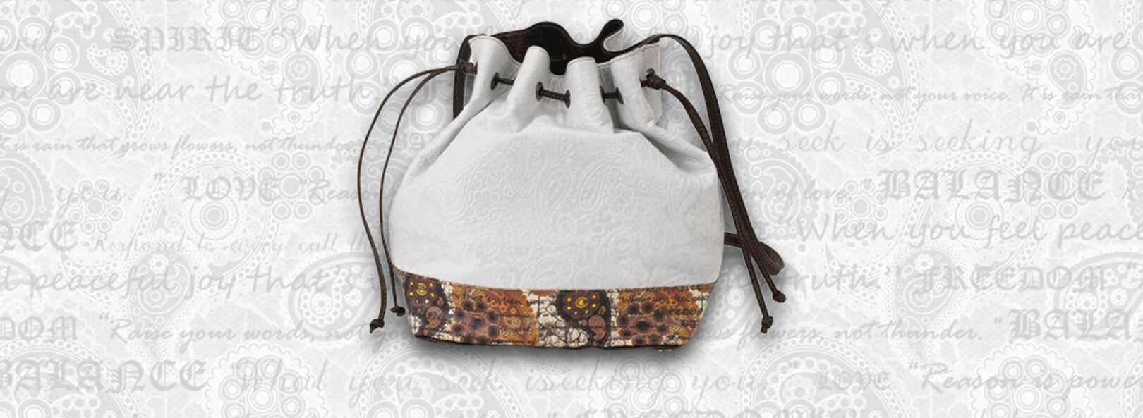 Drawstring-white-Bag