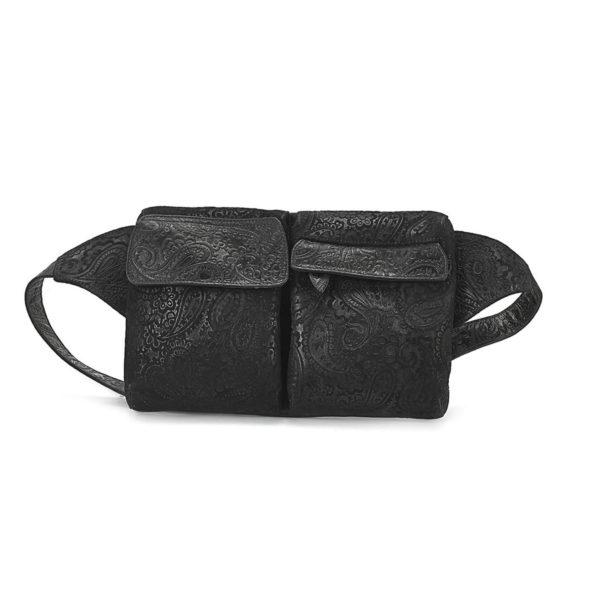HIP-BAG-BLACK-EMBOSSED-1