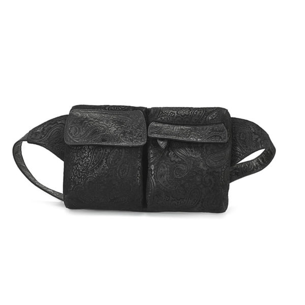 HIP-BAG-BLACK-EMBOSSED-1