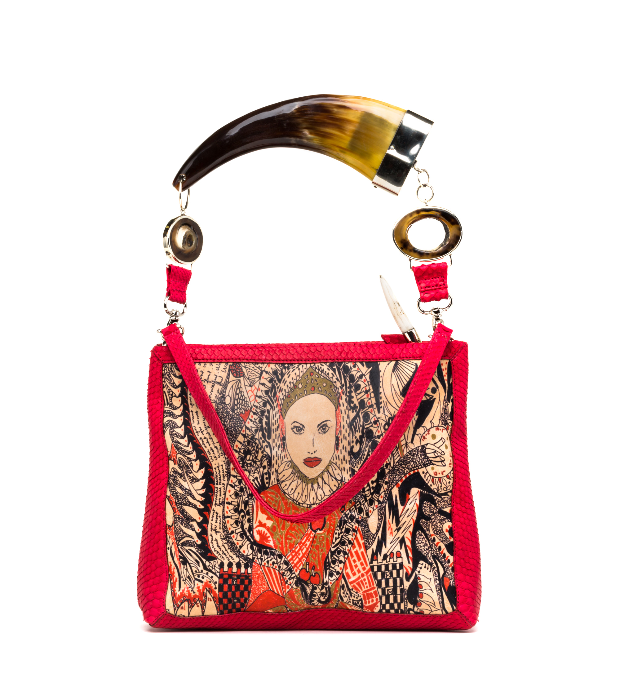oversized-horn-handle-clutch-red-lady-b
