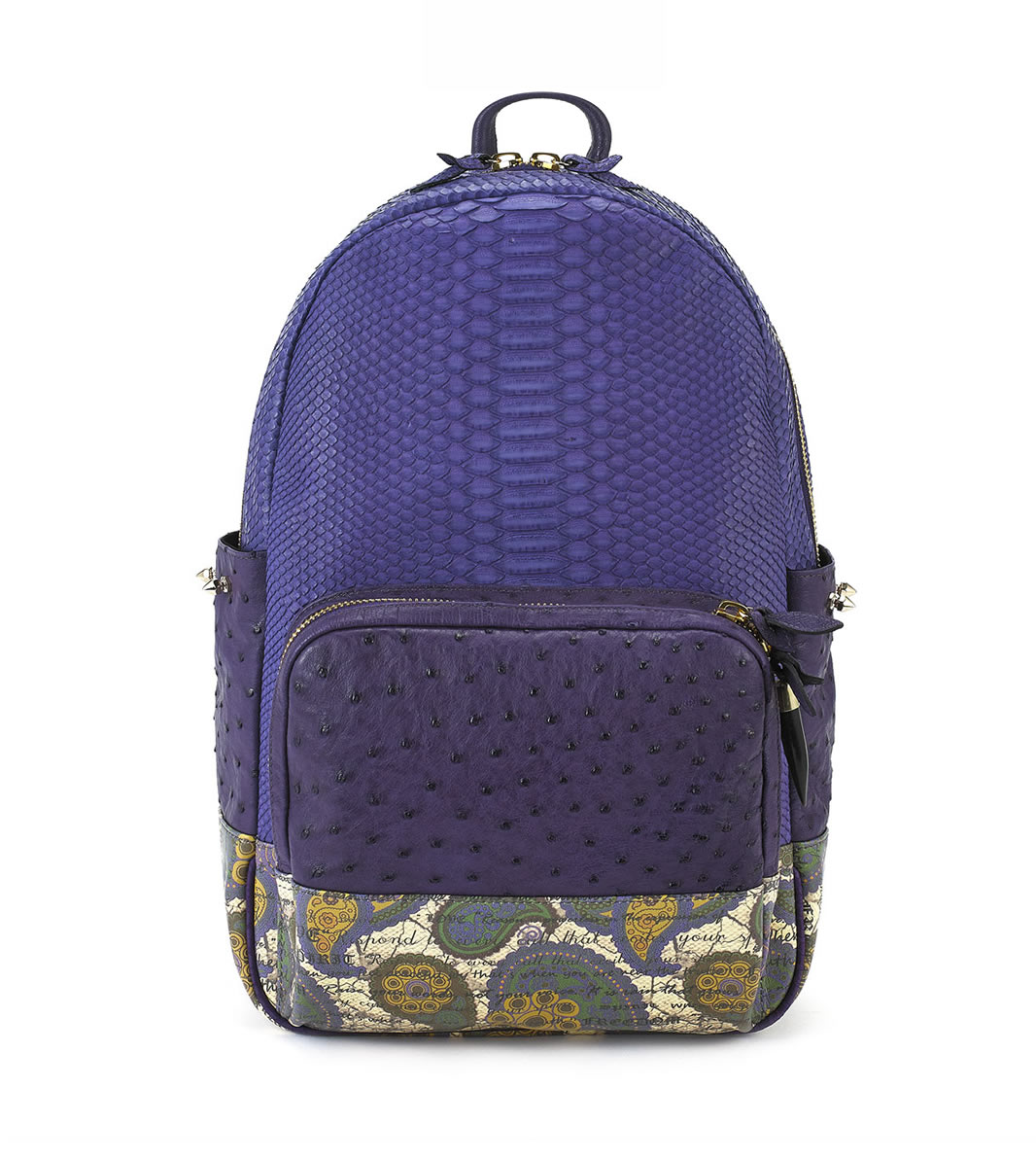 Python Leather sport BackPack