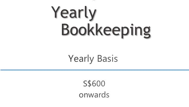 bookkeeping per annum