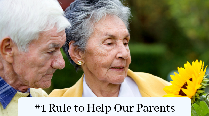 #1 Rule to Help Our Parents