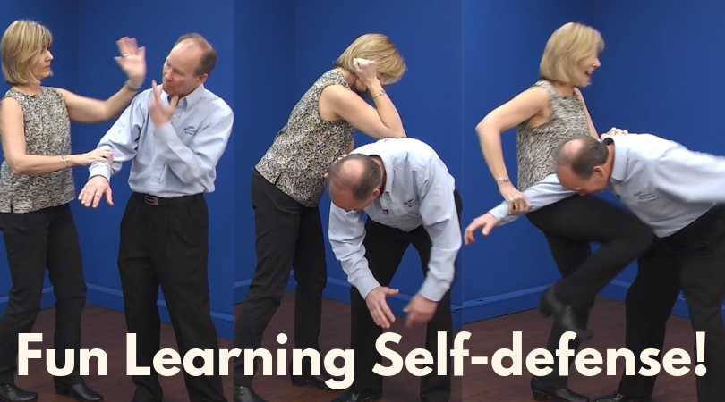 self-defense moves