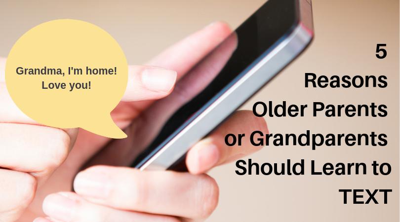 texting Grandmother