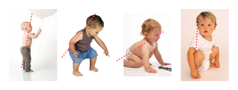 children naturally have good posture
