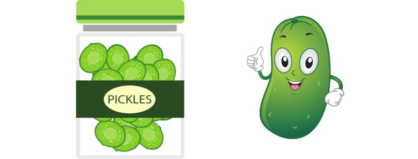 pickle tastin