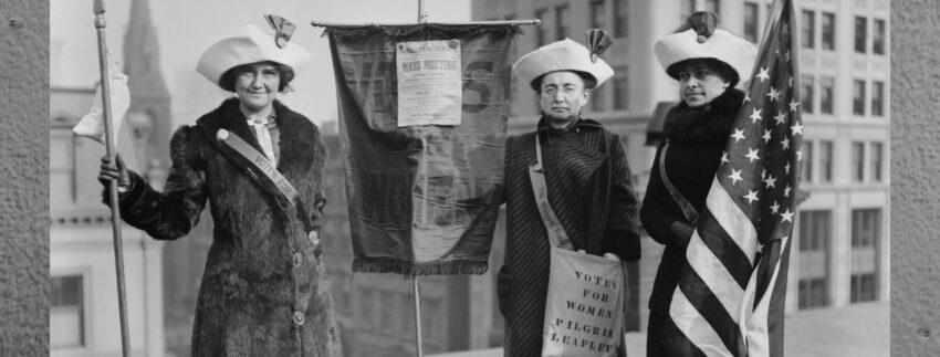 100th anniversary of women's suffrage