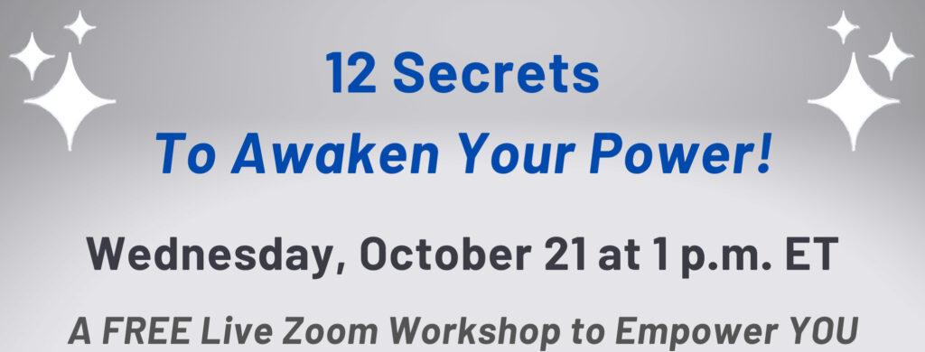 Awaken Your Power Workshop