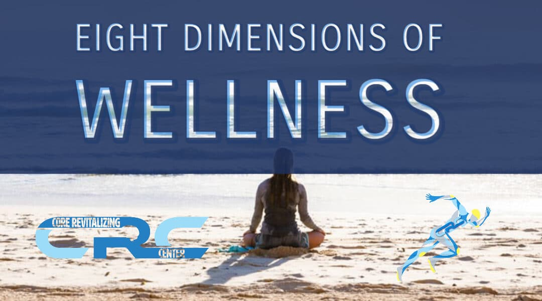 Eight dimensions of wellness core revitalizing center tariq halim md banu acan dpt physical therapy psychiatry suboxone