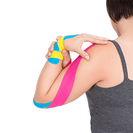kinesiotaping kinesiotape athletic tape Banu Acan Doctor of Physical Therapy CoreRevCenter CRC Core Revitalizing Center Lakewood Ranch Sarasota Bradenton Manatee Florida