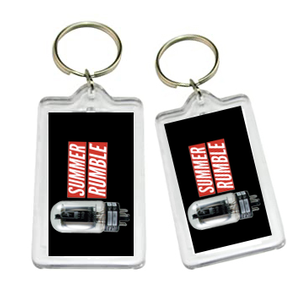 Summer Rumble 2019 40th anniversary keychain