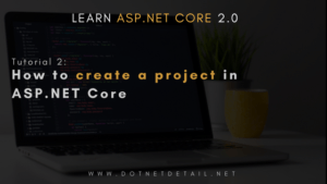 asp net core tutorial part 2
