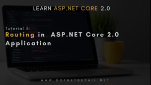 asp net core tutorial routing