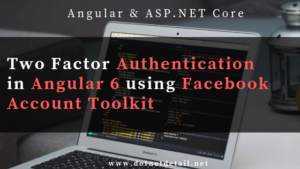 Two factor authentication in angular 6 using facebook account kit