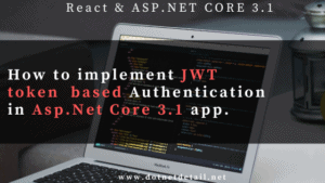 jwt authentication in asp.net core 3.1