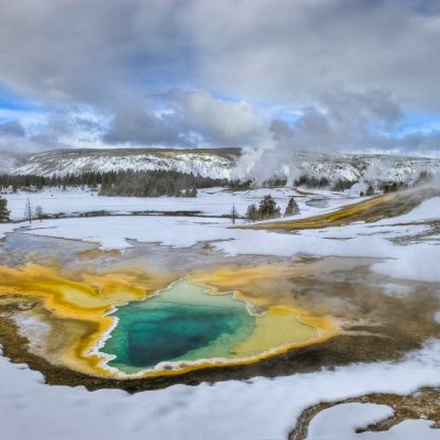 Ken Takata A Yellowstone Winter Photograph