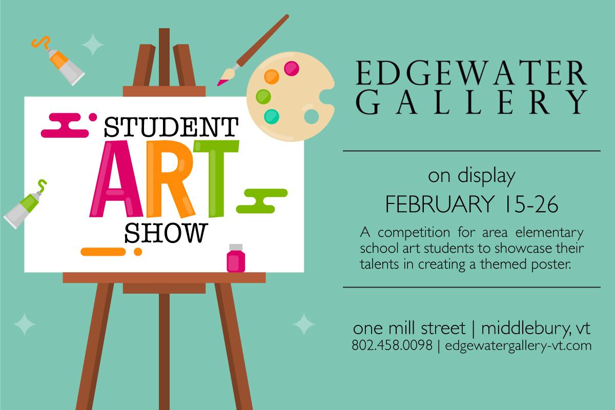 Student Art Show Edgewater Gallery