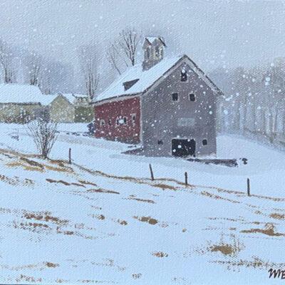 Farm in Snow I