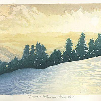 December Afternoon, Stowe, VT
