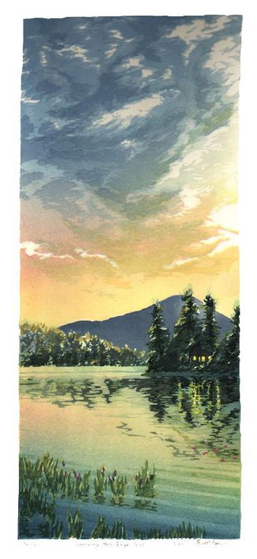 Kearsarge from Eagle Pond