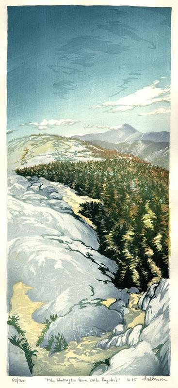 Mt Washington from Little Haystack