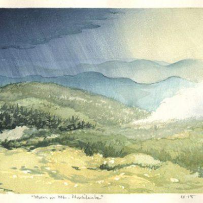 Storm on Mt Moosilauke