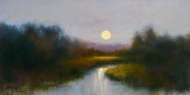 Moonrise on the River