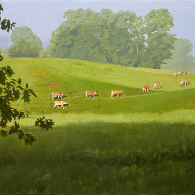 William B. Hoyt - Heifers Heading Home