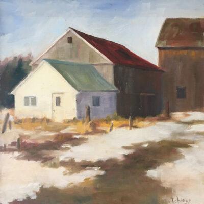 Deborah Hutchings - Barnyard Mud Season