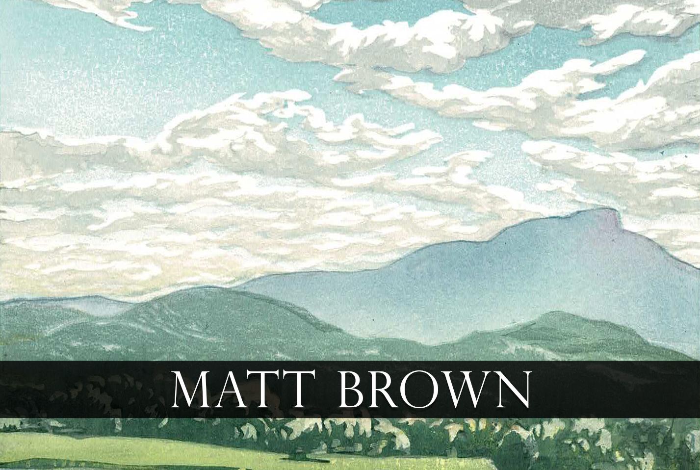Matt Brown Workshop Series Event page picture