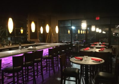 Jojo Carlonis Bar at Night