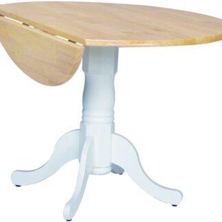 t02-42dp John Thomas Dining Drop Leaf Table