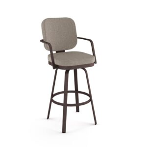 dorsey amisco upholstered bar stool